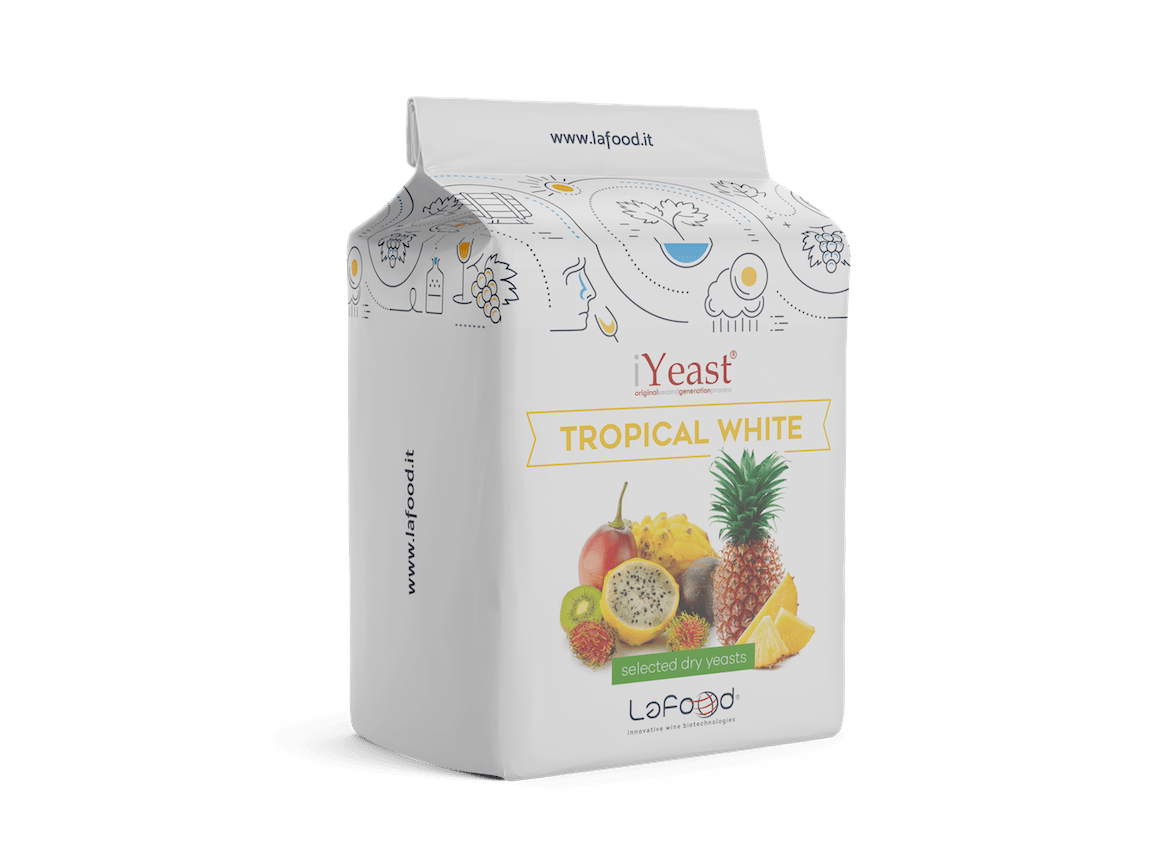 iYeast® Tropical white